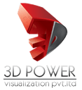 3D Power Logo
