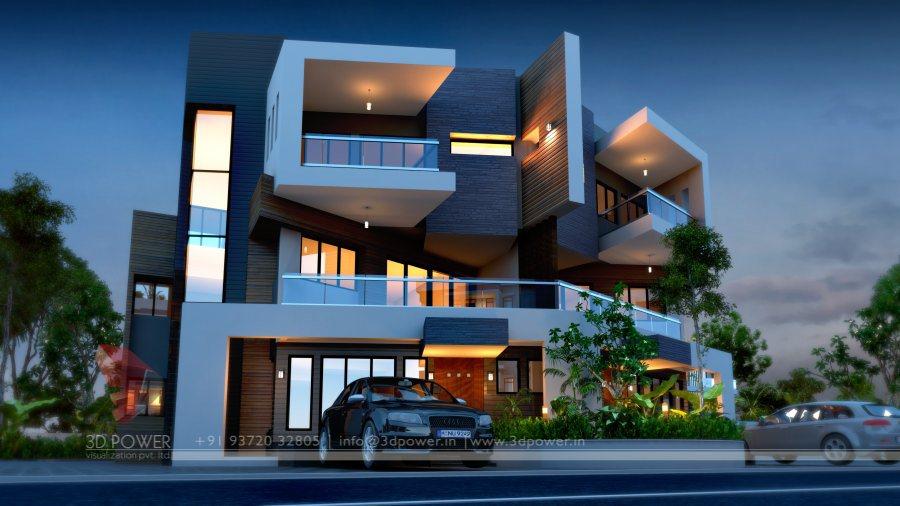 3D Apartments Interior Design Services   3D Elevation & Rendering ...